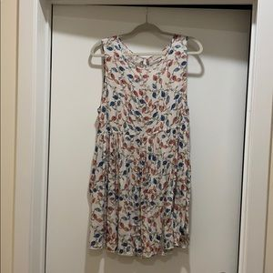 Hinge swing dress